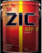 Масло ZIC ATF-3 (для автомат.трансм) 20л