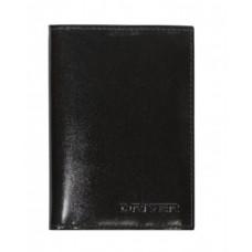 Автообложка с паспортом(кожа) АОП2Б