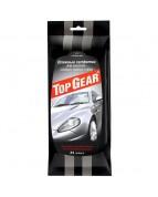 Top Gear №30 Влажные салфетки для очистки стекол, зеркал и фар (30шт)