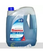 SIBIRIA ANTIFREEZE -40 синий 5кг