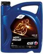 Моторное масло для  4-х тактных двигателей мотоциклов MOTO 4 ROAD 10W40 (4л)