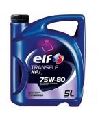 Масло трансм. синт. ELF TRANSELF NFJ  75w-80 (5л)