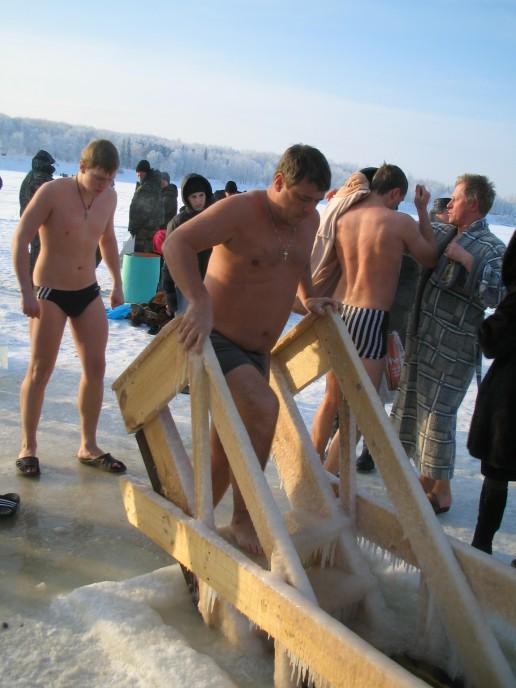 Православные отмечают праздник Крещения Господня