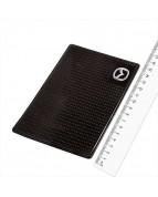 Коврик панели противоскользящий SW плоский с малой эмблемой Mazda 150*90*3мм