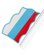 Коврик панели противоскользящий SW 190*105мм Флаг Россия