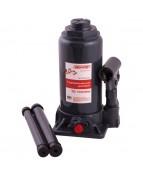 Домкрат гидравлический бутылочный 10т h 200-385мм SKYWAY с клапаном в коробке