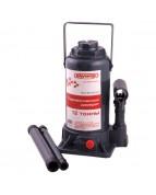 Домкрат гидравлический бутылочный 12т h 210-405мм SKYWAY с клапаном в коробке