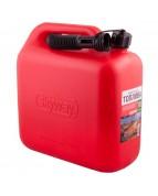 Канистра для бензина SKYWAY 10л пластик